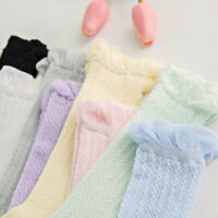 TODDLER KID BABY GIRL'S KNEE HIGH LONG SOCKS CASUAL STOCKINGS 0-3 YEARS