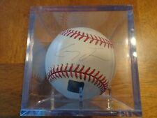 Casey Fossum Autographed Baseball -From Topps Reserve - Numbered Hologram