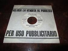 VASCO ROSSI VOGLIO ANDARE AL MARE 45 Rara Edizione Juke Box Festivalbar 1981