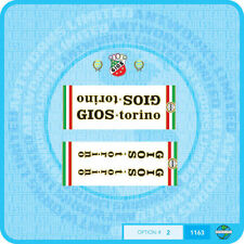 Gios Torino - Bicycle Decals Transfers Stickers - Set 2
