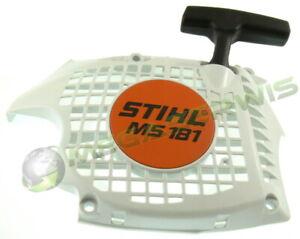 Recoil rewind starter for Stihl MS171 MS181 MS211 Genuine Original Handstarter