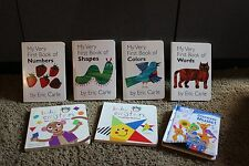 lot of 8 baby Einstein and Eric Carle Board Very First HC School picture  Books