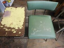 Vintage Rotary Telephone Desk and Chair
