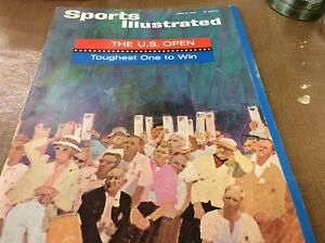 June 15, 1964 Arnold Palmer Golf The U.S. Open Sports Illustrated Some Yellowing
