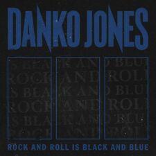 DANKO JONES - ROCK AND ROLL IS BLACK AND BLUE (BLUE VERSION)  VINYL LP NEU