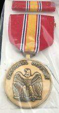 National Defense Medal Set New In Original Box Vietnam-11/91 War Time