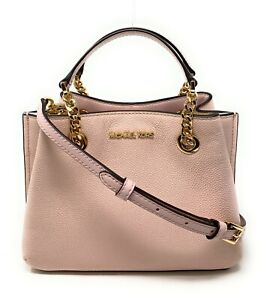 Michael kors Teagen Small Messenger Leather Handbag Crossbody Satchel