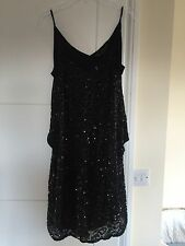 Brand new All saints black sequin dress size 8
