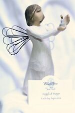 ANGEL of HOPE candle light Wedding shower baby GIFT figurine statue Willow Tree