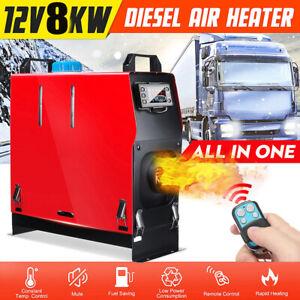Air Diesel Heater LCD Display 8KW 12V for Truck Motorhome Campervan Boat 8000W