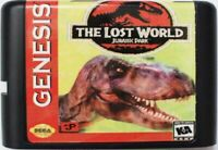 The Lost World: Jurassic Park (1997) 16 Bit Game Card For Sega Genesis System