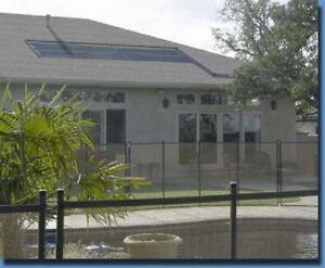 40,000 gal  Inground Pool Solar Heater 5 Panel System (10- 2x20) *5 yr warranty