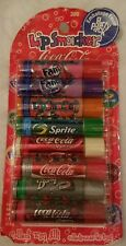 ORIGINAL Lip Smackers, Coca Cola 8 pack of Lip balms~VINTAGE OLDER STOCK