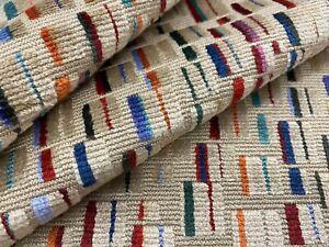 GP & J Baker Contemporary Velvet Upholstery Fabric- Maynard Bronze Multi 6.50 yd