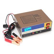 Coche Cargador de Batería 12V/24V 100AH Eléctrico Pulso Inteligente Reparación