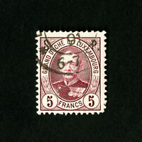 Luxembourg Stamps # O74 Used VF Scott $55.00