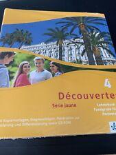 Decouvertes 4 Serie Jaune. Lehrerbuch