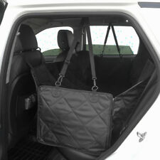 Black Car Dog Back Seat Cover Hammock Pet Truck Mat Travel Waterproof For Ford
