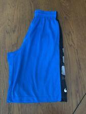 Mens Blue Nike Elite Shorts Size M