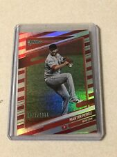 2021 Donruss - MARTIN PEREZ - Red Parallel /2021 - Red Sox #97