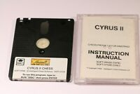 RARE Amstrad CPC 464 664 6128 Disk Game -- CYRUS II CHESS PROGRAM -- 1985