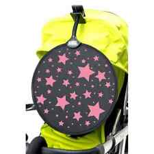 My Buggy Buddy Stroller Sun Shade  Pushchair Pram Car Shade Clip On  PINK STARS