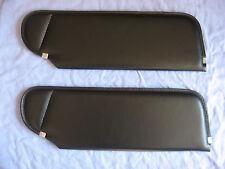 1983-93  mustang convertible new sun visors black