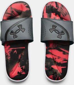 Under Armour Men's UA Ignite VI Graphic Strap Slide Athletic Sandals - 3024451