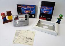 Super Nintendo SNES Jeu-Soul Blazer-Mode d'emploi + neuf dans sa boîte-CIB