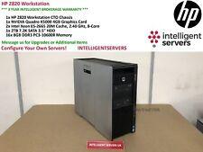 HP Z820 Workstation, 2x Xeon E5-2665 2.40GHz, 128GB DDR3, 2TB HDD, Quadro K5000