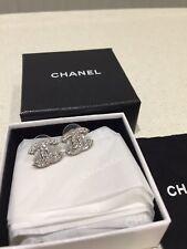 Autentico Chanel CC Orecchini Borchie