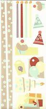 Creative Memories JUMBO GREAT LENGTH STICKER - CABANA - BIRTHDAY