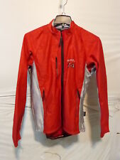 Sportful Men's Red/Silver Long Sleeve Cycling/Running Windstopper Jacket XL