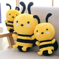 Lovely Soft Little Bee Animal Doll Stuffed Plush Toy Gifts 20/25/30cm For K U8I8