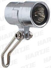 Fahrrad LED Scheinwerfer Contec Miro m Schalter f Nabendynamo + Standlicht 01033