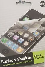 Apple-iPhone-3G-&-3GS-Screen-Protector-Pack of-5-NEW