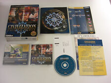 Civilization CALL TO POWER Pc Cd Rom Original BIG BOX Fast Secure Post