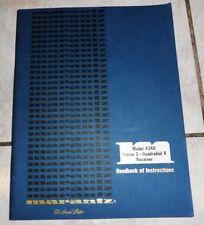 NOTICE / HANDBOOK OF INSTRUCTIONS MARANTZ MOD 4240 STEREO 2 QUADRADRIAL ENGLISH