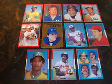 1982 Topps Baseball---Stickers---Lot Of 11---No Dupes---Stars Only