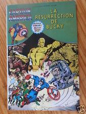 "BD CAPTAIN  AMERICA "" LA RESURRECTION DE BUCKY "" AREDIT 1979, TRES BON ETAT"
