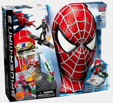 SPIDERMAN 3 Mega Bloks 2002 Secret Lab Assault 155 pieces New Goblin Playset