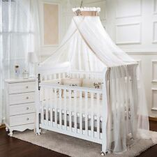 Kids Baby Cot Bed Mosquito Net Curtain Canopy Dome Mesh Nursery Summer AU005 : crib netting canopy - memphite.com