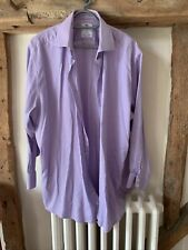 Hawes & Curtis Limited edition Luxury Cotton Shirt 17.5