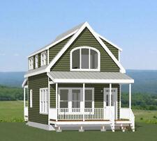 18x30 House -- PDF Floor Plan -- 999 sq ft -- Model 7E