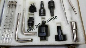 HQ Common Rail Injector Tools Kit for Bosch, Denso & Siemens CR Injectors