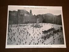 Il 1° maggio del 1920 a Napoli Scioglimento di un comizio in Piazza Dante