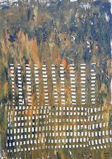 Anne Geritzen acylique sur toile , on canvas ,Respiration 50/70cm artprice