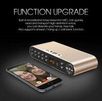 Bluetooth Speaker Portable Wireless Dual Soundbar TF FM Radio USB HIFI Sound Box