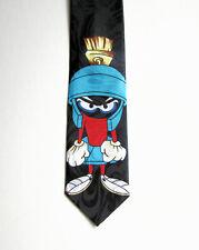 Men's Vintage (1990s) Cartoon Looney Tunes Marvin Martian Silk Tie/Necktie. Bugs