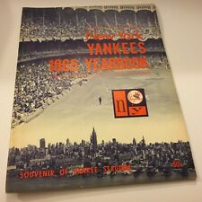 New York Yankees 1965 Revised Yearbook Excellent Condition Baseball Souvenir